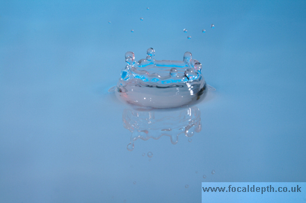 Abstract - Water droplet
