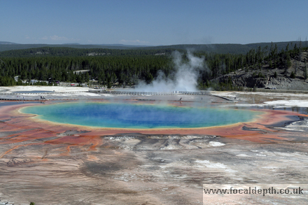 Yellowstone - Grand Prismatic Spring, Midway Geyser Basin, Yellowstone National Park, Wyoming
