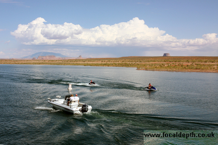 USA - Boat trip on Lake Powell to Rainbow Bridge