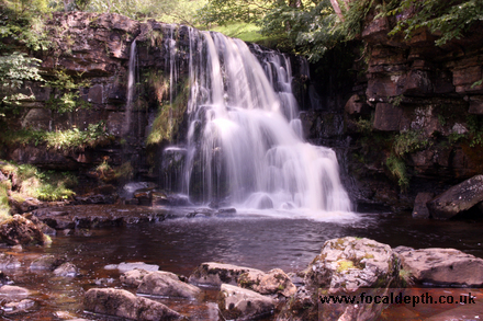 UK - Waterfall near Muker, Upper Swaledale