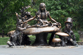USA - Alice in Wonderland bronze sculpture by Jose de Creeft in Central Park New York