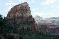 USA - View of the top of Angel's Landing from the West Rim Trail, Zion