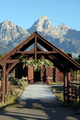 USA - The Chapel of the Transfiguration, Moose, Jackson Hole, Wyoming